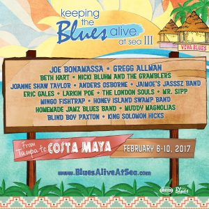 Honey Island Swamp Band @ Keeping The Blues Alive At Sea III